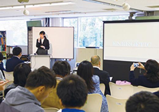 卒業制作発表会